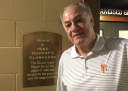 San Francisco Giants Equipment Manager Mike Murphy