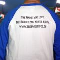 Raglan sleeve shirt back